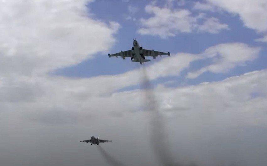 Azərbaycan Hərbi Hava Qüvvələri təlim-məşq uçuşları keçirir