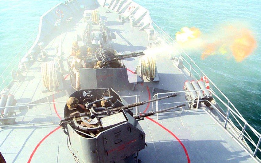 Hərbi Dəniz Qüvvələrinin taktiki təlimləri başa çatıb