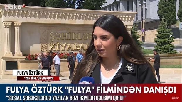"""Fulya Öztürk: """"Bəzi rəylər qəlbimi qırdı"""""""