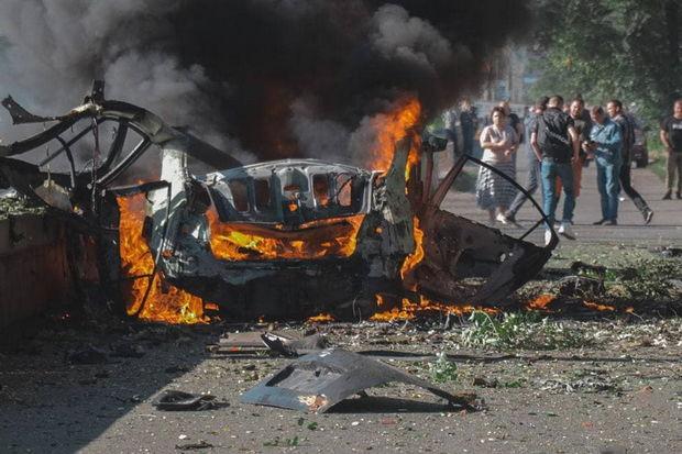 Ukraynada terror törədildi