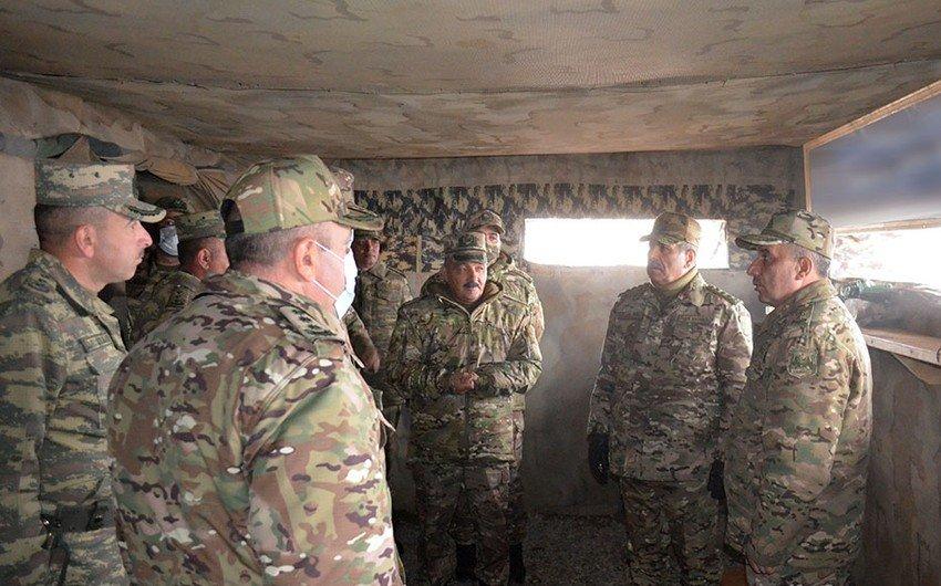Zakir Həsənov Azərbaycan Ordusununun Laçındakı təlimini izləyib, tapşırıqlar verib